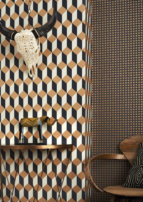 Delano Wallpaper - Cole & Son - Geometric II Collection