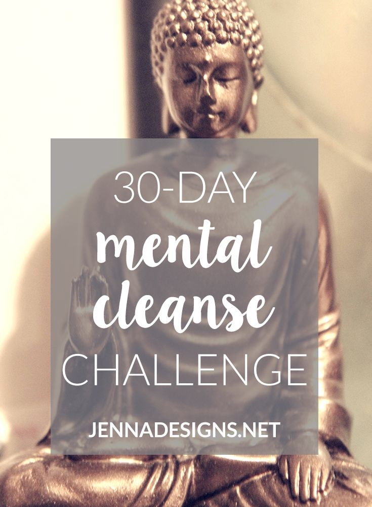 Last month, two bloggers I follow – Kiara at Blissfully Brunette and Erin from A Welder's Wife – undertook the 30-day Mental Cleanse Challenge. I enjoyed following their progress weekly and have been motivated to give it a shot the month of March. It just