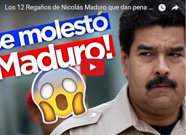 Maduro no se cansa de regañar a sus focas