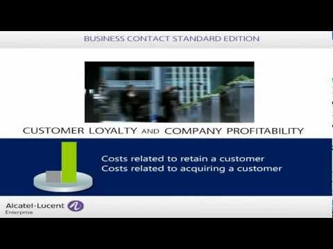 Alcatel-Lucent Business Contact Standard Edition Overview