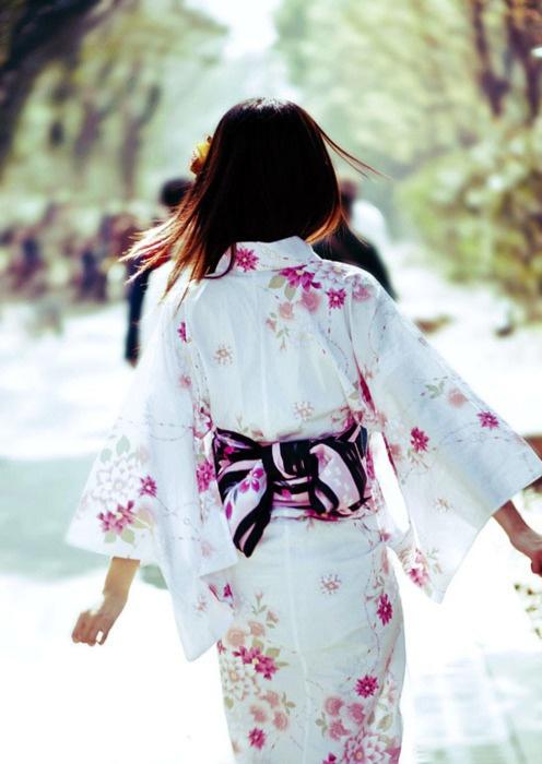 yukata - so summery and pretty!
