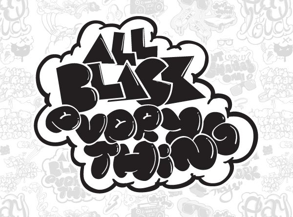 All Black Everything / Vector on Typography Served