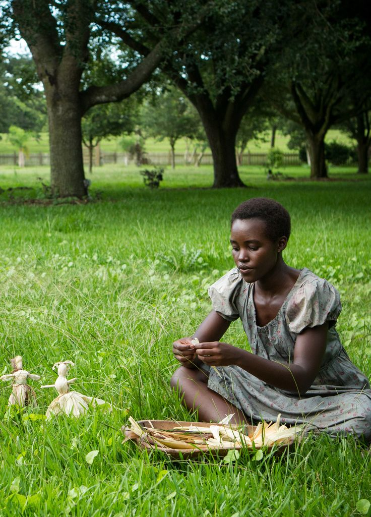 Lupita Nyong'o as Patsy in 12 Years A Slave - an amazing actor giving a powerful performance.
