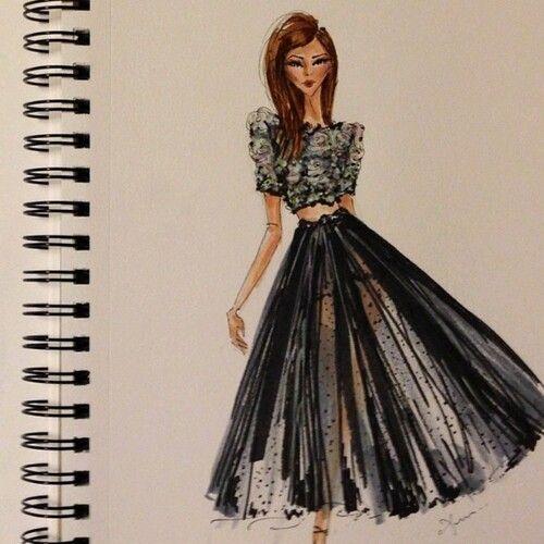 Skirt crop top   Drawings   Fashion, Paper fashion, Drawings