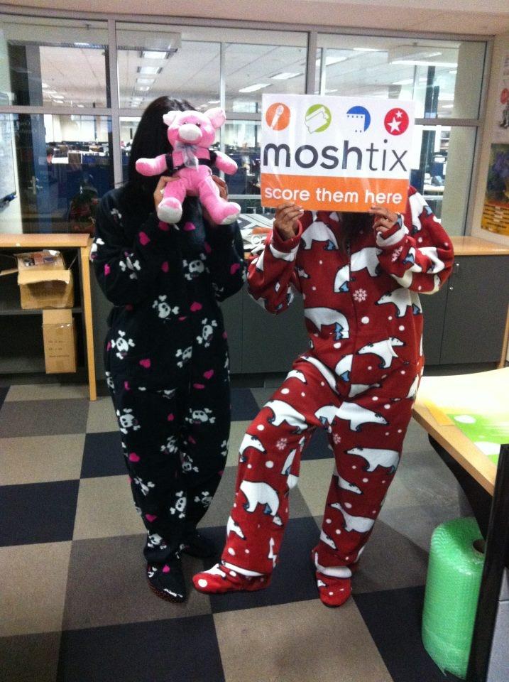 The new moshtix winter uniform has arrived!
