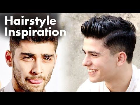 Zayn Malik hairstyle - Mens haircut - YouTube