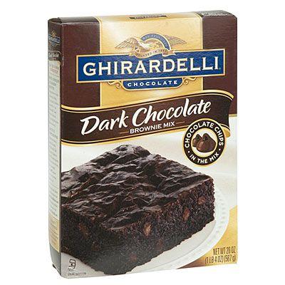 Ghirardelli®Dark Chocolate Brownie Mix at Big Lots.