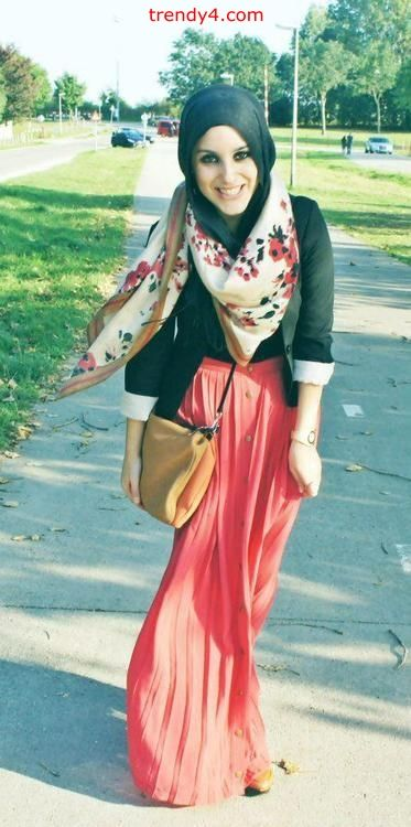 #hijabi #fashion at it's best. Love it!