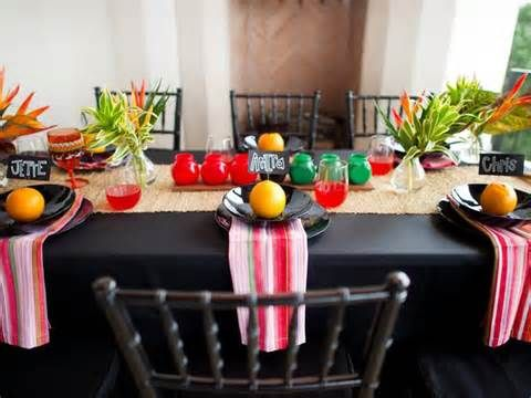 Name Cards for Entertaining at the Dinner Table Decorating Your Home for Kwanzaa