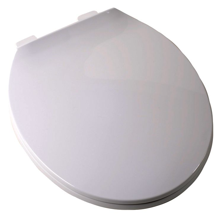 Plum Best C3B3R3-00 Round Contemporary Toilet Seat