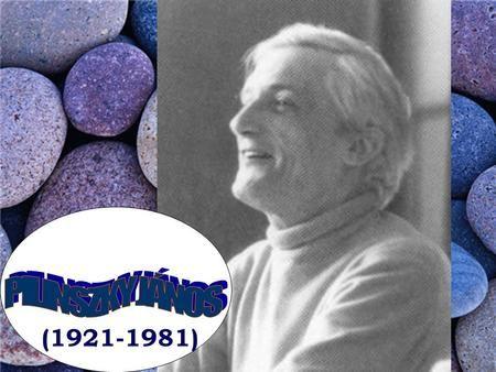 (1921-1981). Pilinszky János Budapesten született 1921. november 25-én…