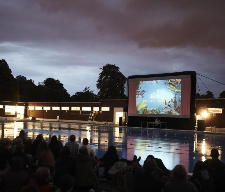 Nomad's roaming pop-up cinema