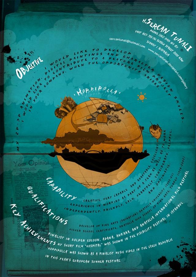 75 best cv images on Pinterest Curriculum, Resume and Resume cv - visual artist resume 1