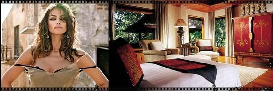 Mădălina Ghenea, Four Seasons Hotel, Chiang Mai, Thailand
