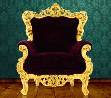 Armchair - Baroque: Hand made French style wooden carved armchair of high quality velvet. http://mousasgallery.com/furniture/armchairs/armchair-l11-6176