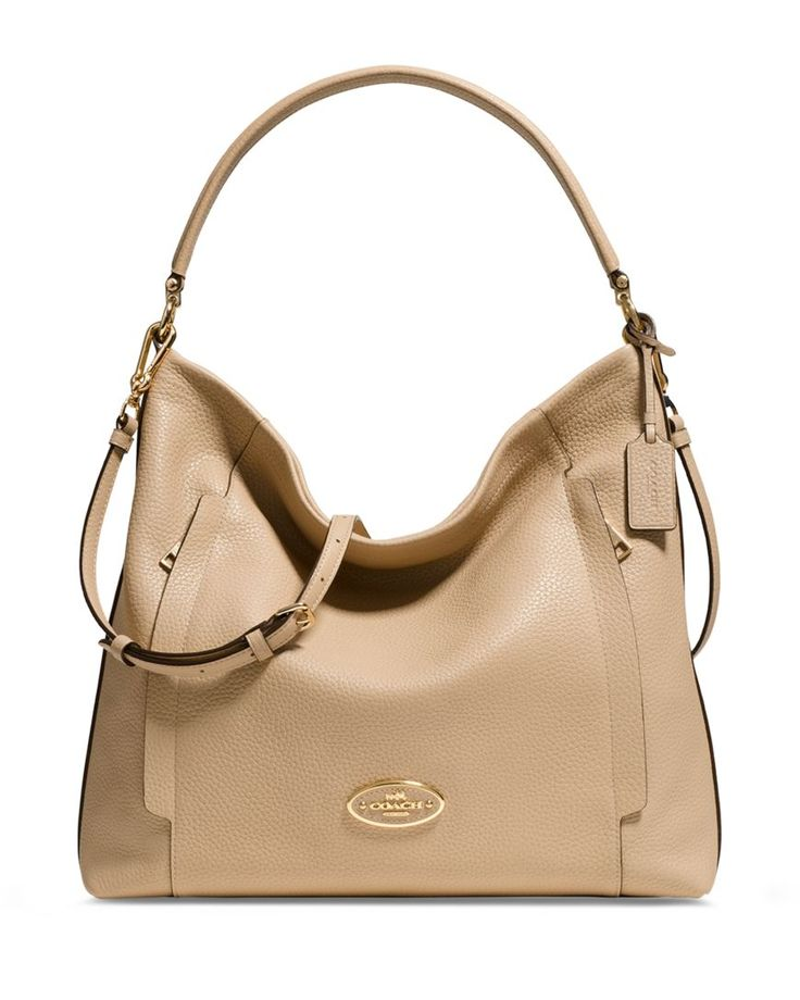 COACH Large Scout Hobo in Pebble Leather | Bloomingdales's