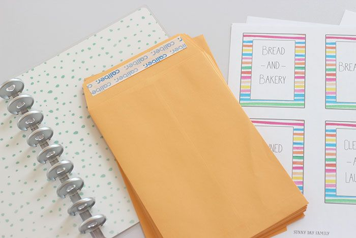 Make a DIY Coupon Organizer For Happy Planner with Free