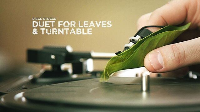 Diego Stocco - Duet for Leaves & Turntable by Diego Stocco