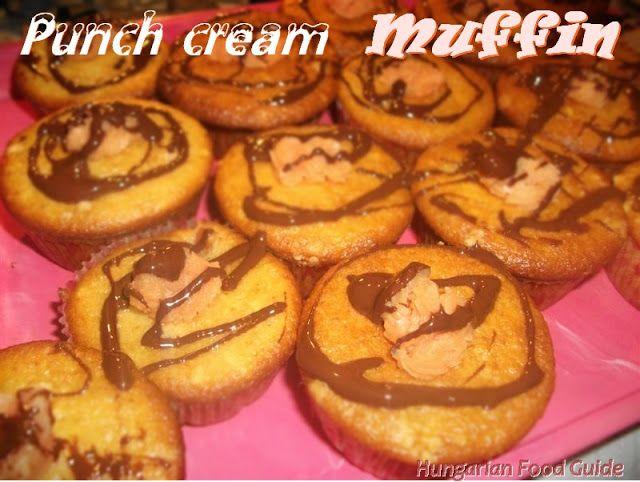 Punch cream Muffins