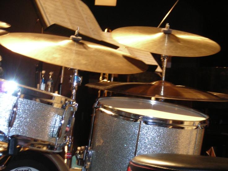 Beatniq Bar Gary DeBoek's drum kit  Calgary AB