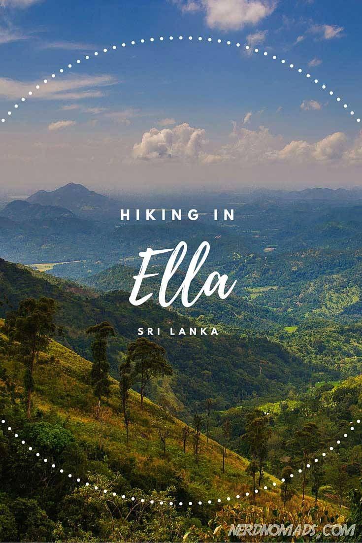 Breathtaking Hikes Above 2000m - Hiking in Ella, Sri Lanka