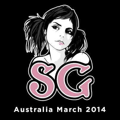 Suicide Girls Australian Tour Poster March 2014.