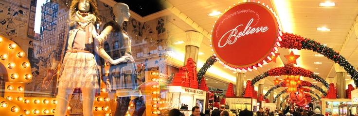 Лучший шоппинг к праздникам можно сделать только в Нью-Йорке...