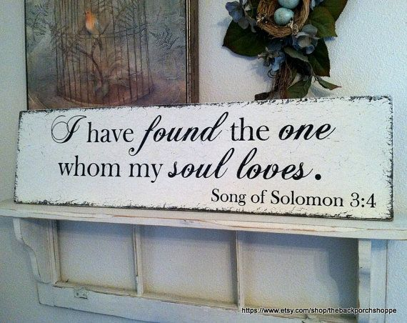 Hey, I found this really awesome Etsy listing at http://www.etsy.com/listing/158689394/song-of-solomon-i-have-found-the-one