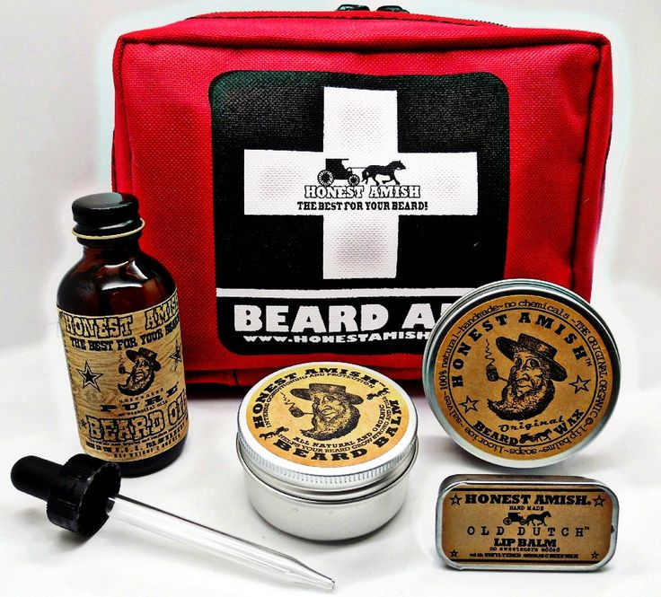 Honest Amish Beard Survival Kit - Gift for the man who has everything Balm, Oil, and Wax by HonestAmish on Etsy https://www.etsy.com/listing/213838864/honest-amish-beard-survival-kit-gift-for