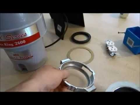 Garbage disposal - Waste King 1/2 HP easy install
