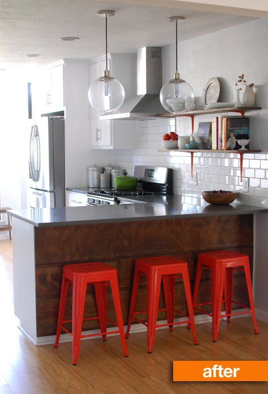 Before & After: Sandra and Justin's Family-Friendly Kitchen Remodel