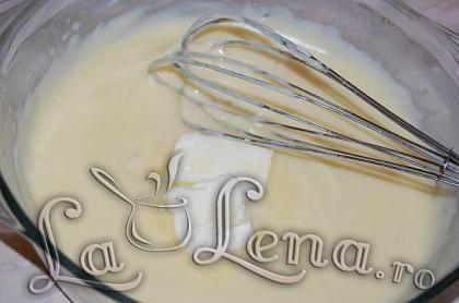 Crema cu lapte si unt rapida (la microunde)