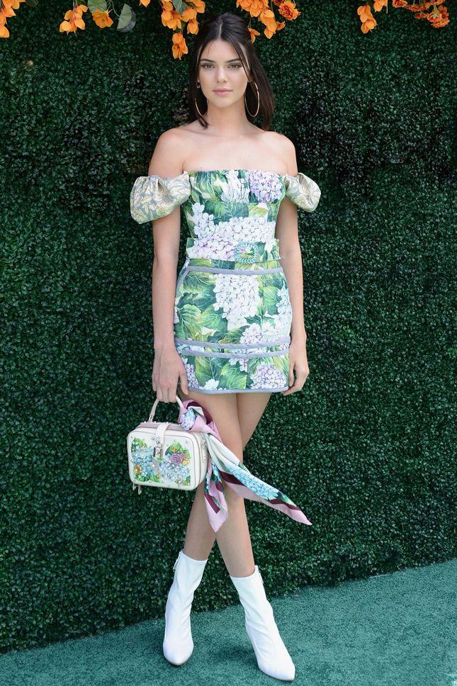 Кендалл Дженнер в Dolce & Gabbana на Veuve Clicquot Polo