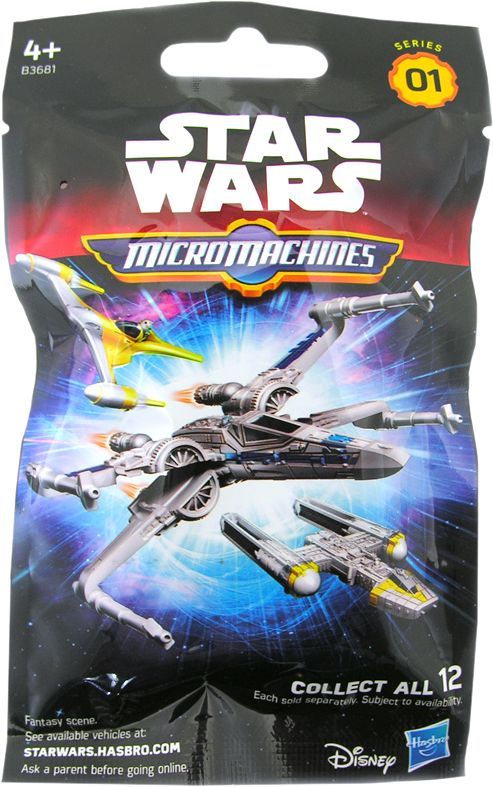 MicroMachines Vehicle Blind Bag | Star Wars Episode VII: The Force Awakens | Popcultcha