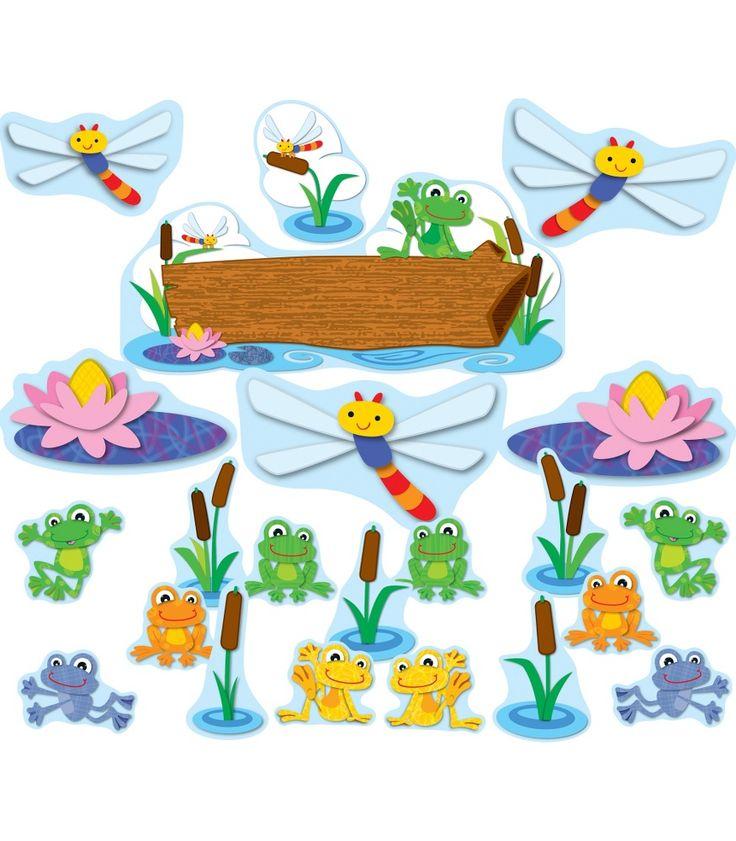 FUNky Frogs Bulletin Board Set (CD-110207) #classroom #decor #AILtyler