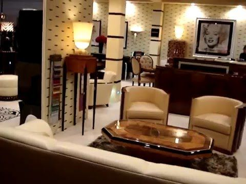 mobilier art deco a la foire de paris canape art deco paris art deco furniture new york lustres. Black Bedroom Furniture Sets. Home Design Ideas