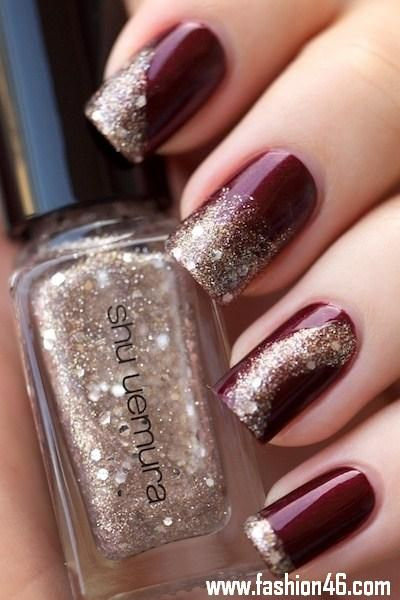 Beautiful Nail Art Designs 2013 for Girls Latest Nail Designs Trends For Short & Long Nails 2013 7