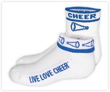 Cheer Socks, Cheerleading Socks, Cheerleader Socks - OmniCheer