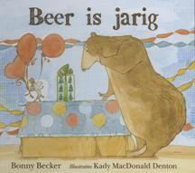 Kerntitel Kinderboekenweek 2014 Beer is jarig - Bonny Becker