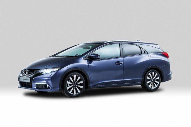 Honda Civic Tourer, producent ujawnia szczegóły www.moj-samochod.pl/Nowosci-motoryzacyjne/Honda-Civic-Tourer--producent-ujawnia-szczegoly #Honda #Civic