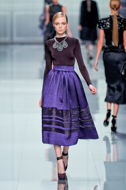 Dior Fall 2012, purple