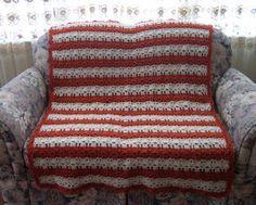 Coral Reef Crochet Afghan