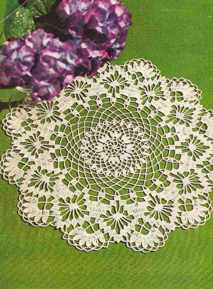 17 melhores imagens sobre centro de mesa a crochet no for Centro de mesa a crochet
