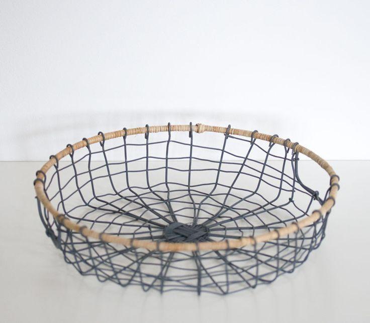 Wire round tray