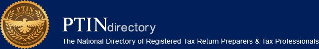 PTINdirectory - The National Directory of Registered Tax Return Preparers & Tax Professionals
