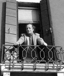 Иосиф Бродский во Флоренции, 1975 г.