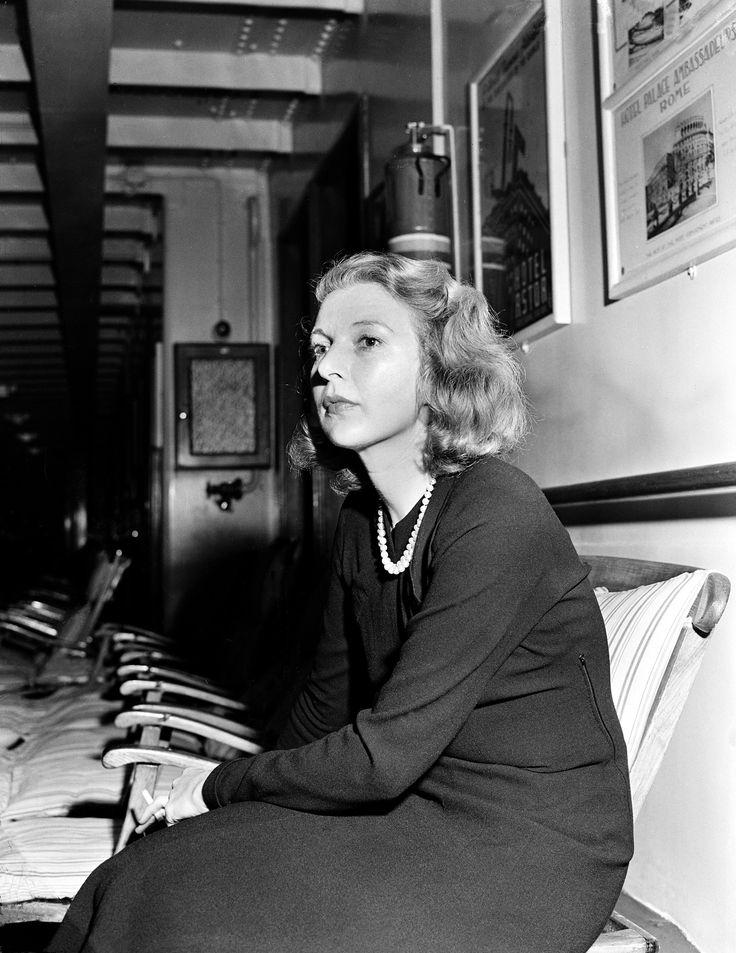 Writer and correspondent Martha Gellhorn is shown in this undated photo.  (AP Photo)