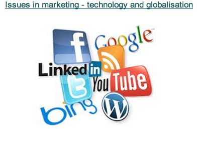 New technology has opened up many marketing opportunities, as has access to worldwide markets