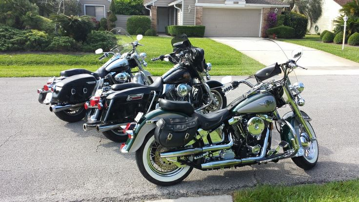 Nano-Concepts Guys Harleys.  Heading to St. Augustine for a Sunday ride.