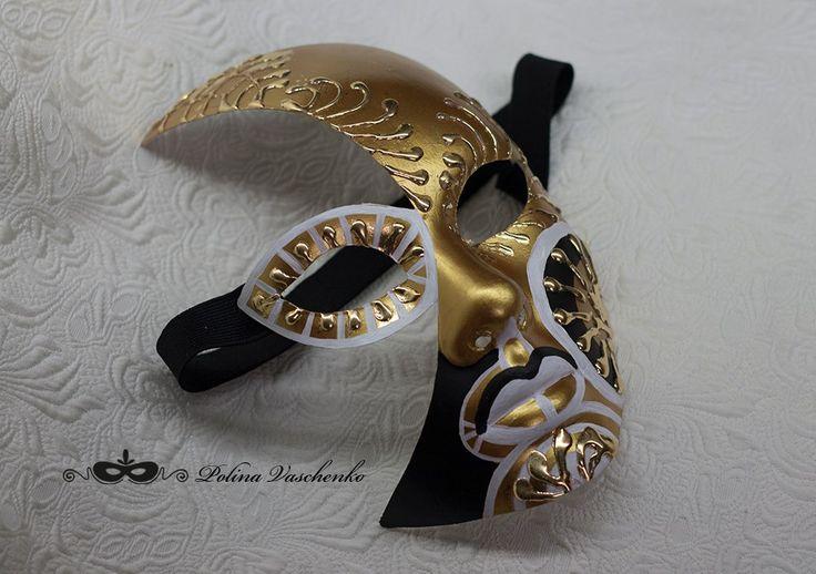 Карнавальные маски Amazant, аксессуары, украшения Plastic basic carnival mask by Polina Vaschenko